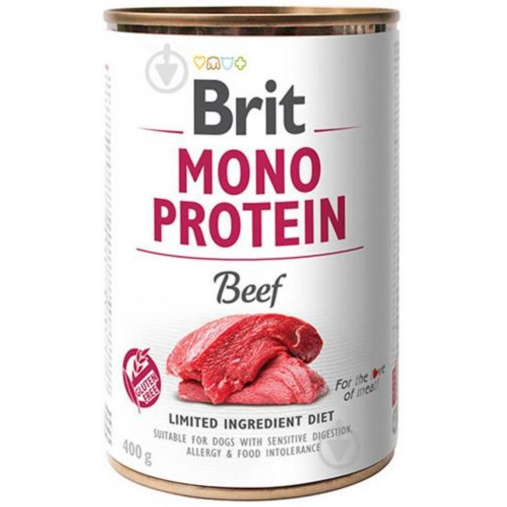 Корм для собак Brit Mono Protein Dog k с говядиной 400 г