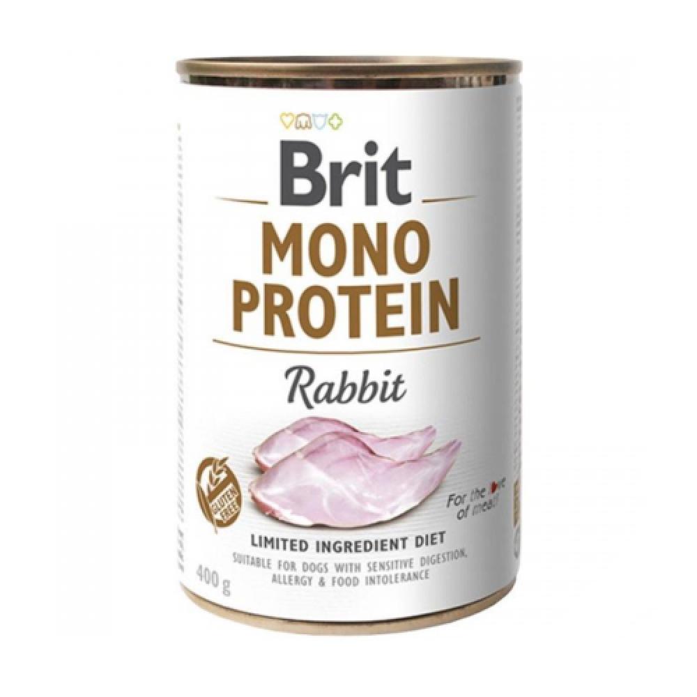 Brit (Брит) Mono Protein Rabbit Консервы для собак с кроликом