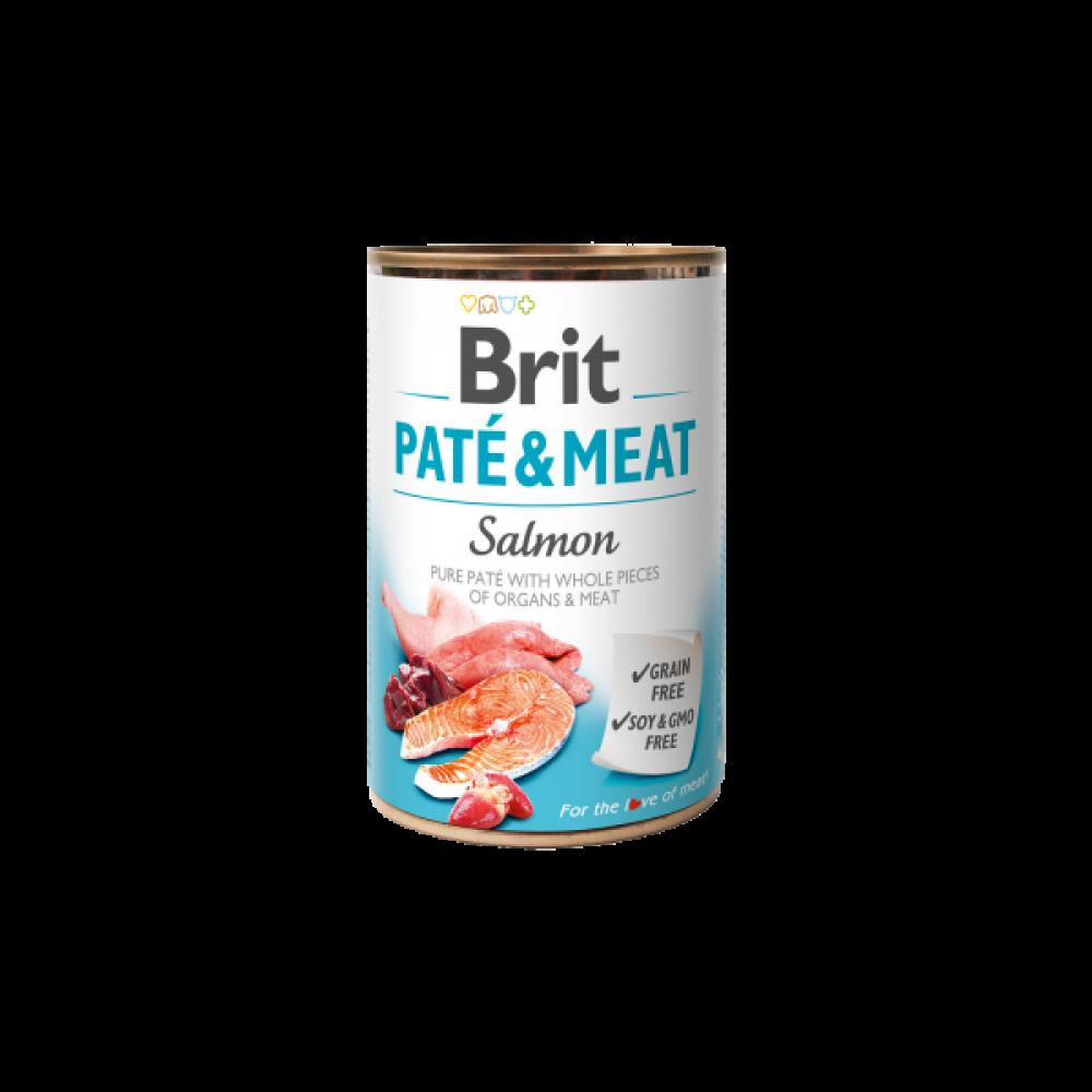Brit Pate & Meat Dog с лососем