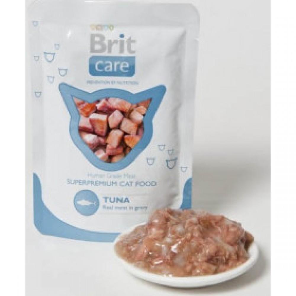 Пауч Brit Care Cat pouch тунец, для кошек