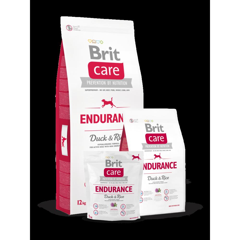 Сухой корм для активных собак всех пород Brit Care Endurance