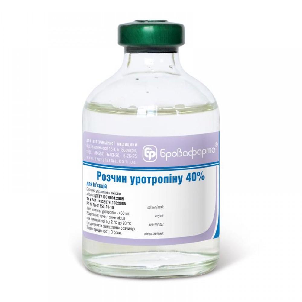 Раствор уротропина 40%