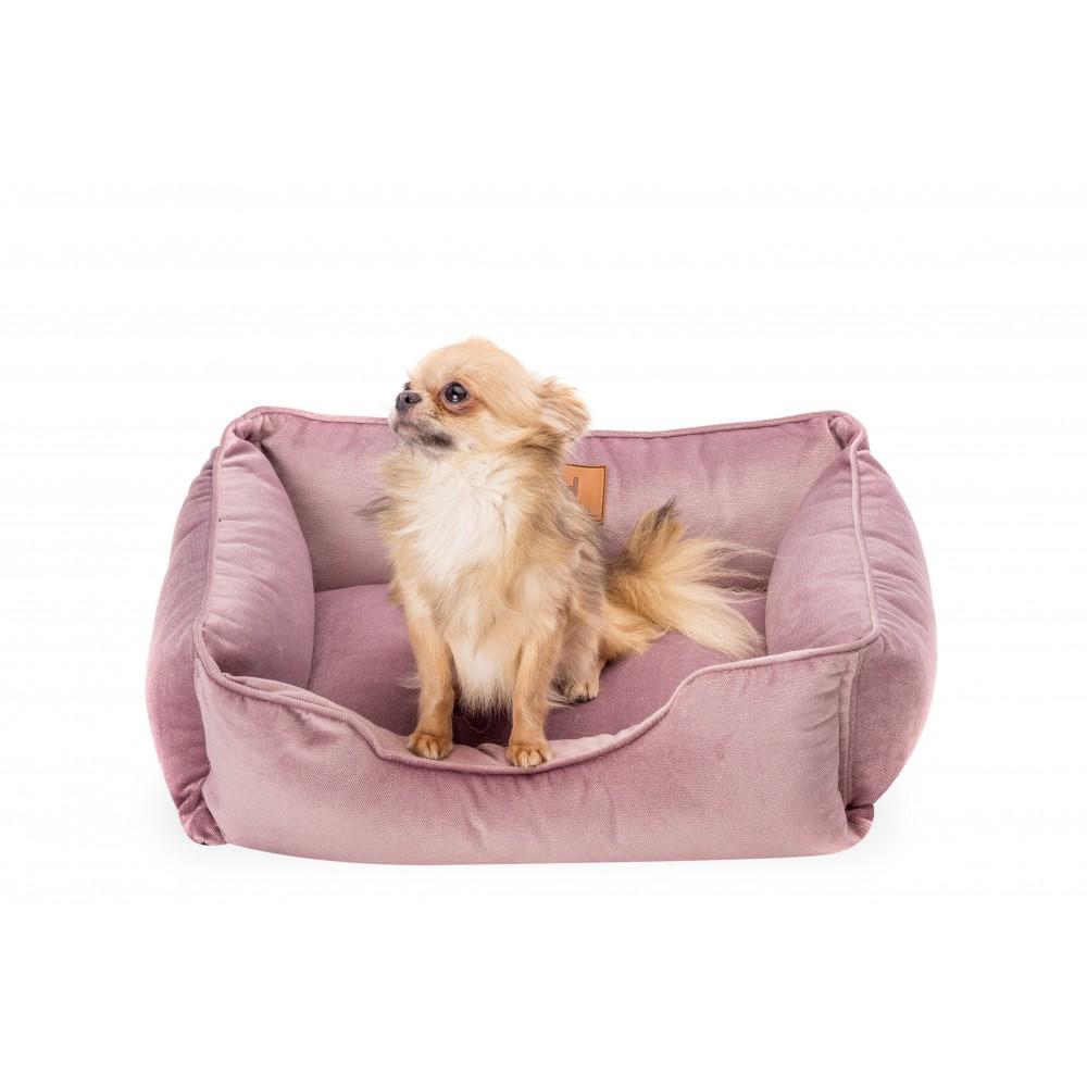 Лежак Dreamer Velur Pink