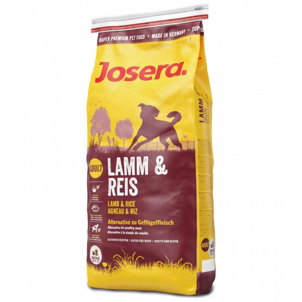 Сухой корм Josera Lamb & Rice для взрослых собак