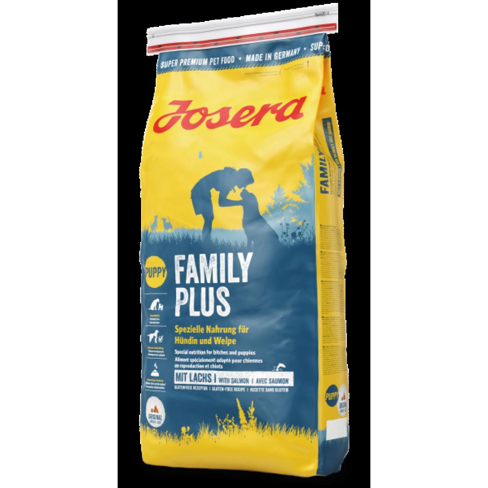Josera Family Plus - корм Йозера для кормящих или беременных сук и прикорма щенков 15 кг.