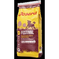Josera Festival - корм Йозера для привередливых собак, лосось и рис в изысканном соусе