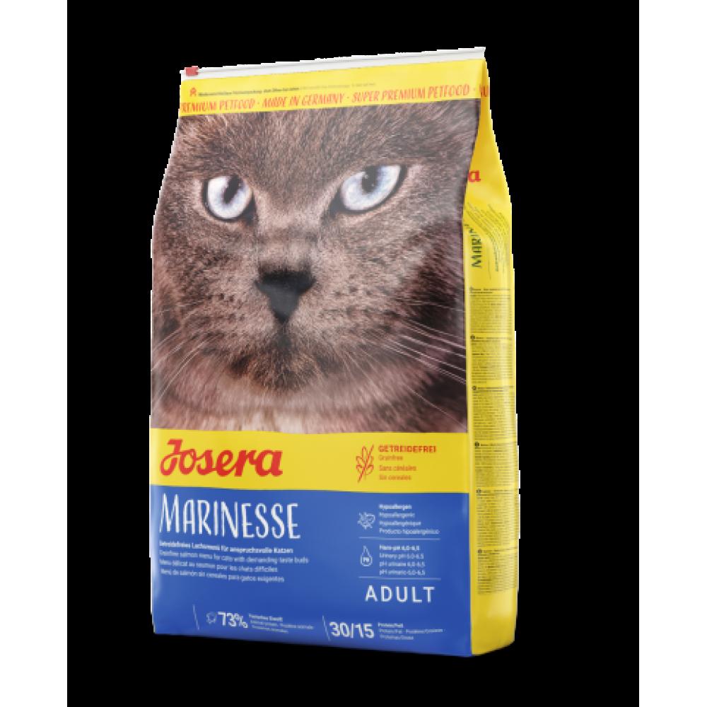 Сухой гипоаллергенный корм для взрослых кошек Josera Marinesse Adult с лососем и рисом