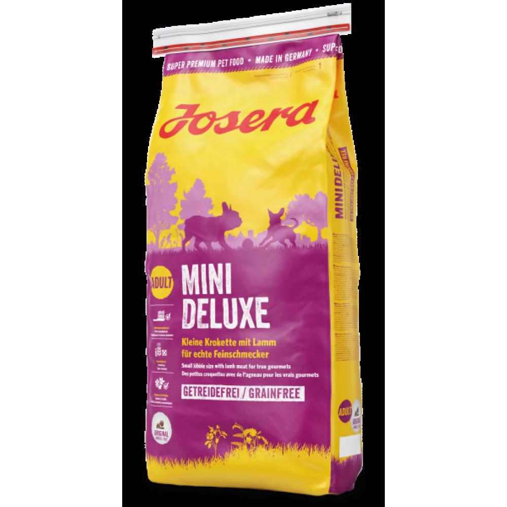 Сухой корм Josera MiniDeluxe Adult  для взрослых собак малых пород  беззерновой с ягненком