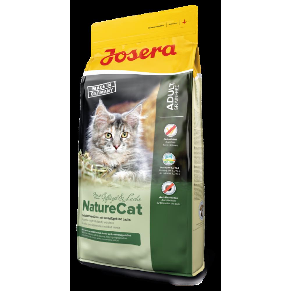 Сухой корм Josera NatureCat беззерновой для взрослых кошек