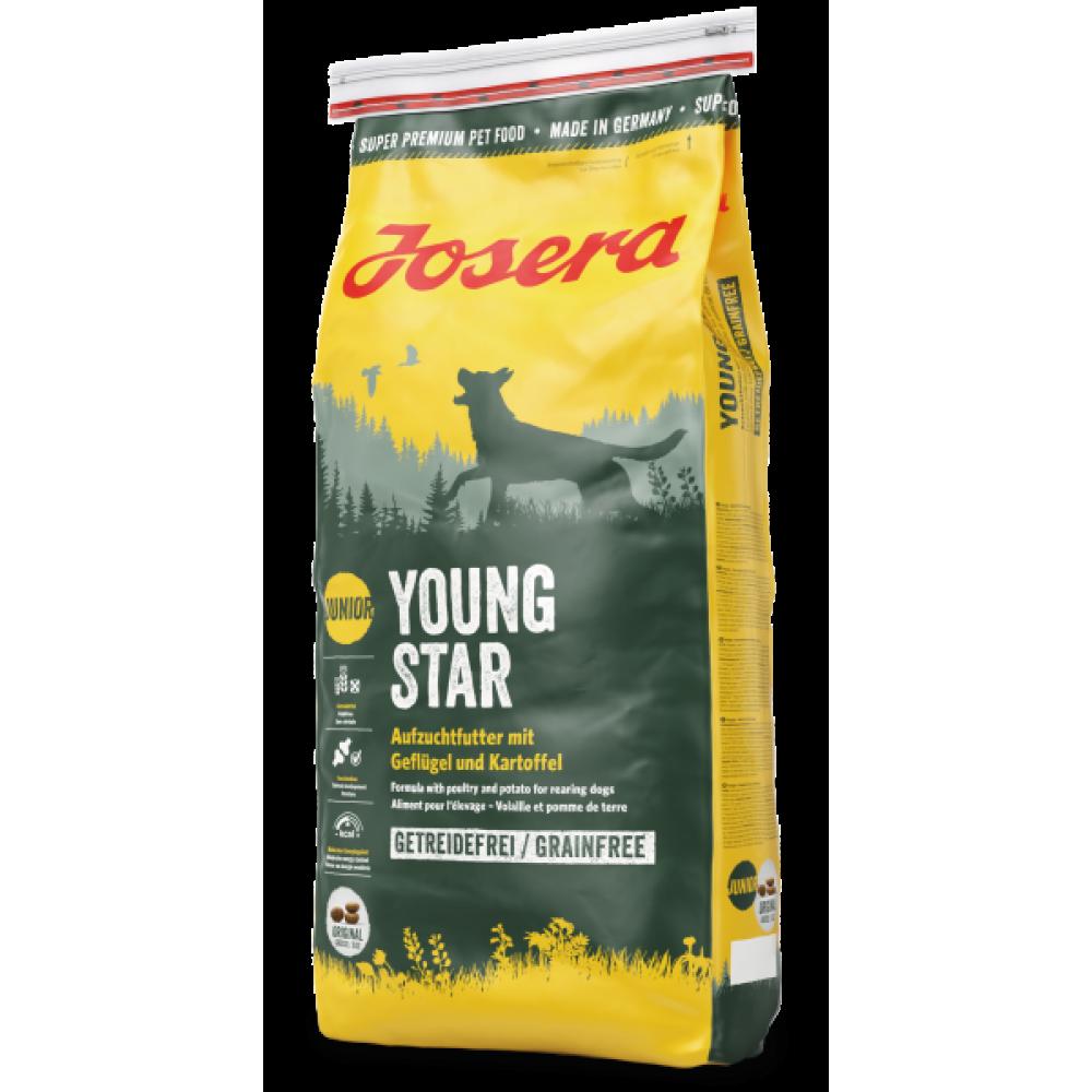 Josera YOUNG STAR – беззерновой корм для щенков и молодых собак