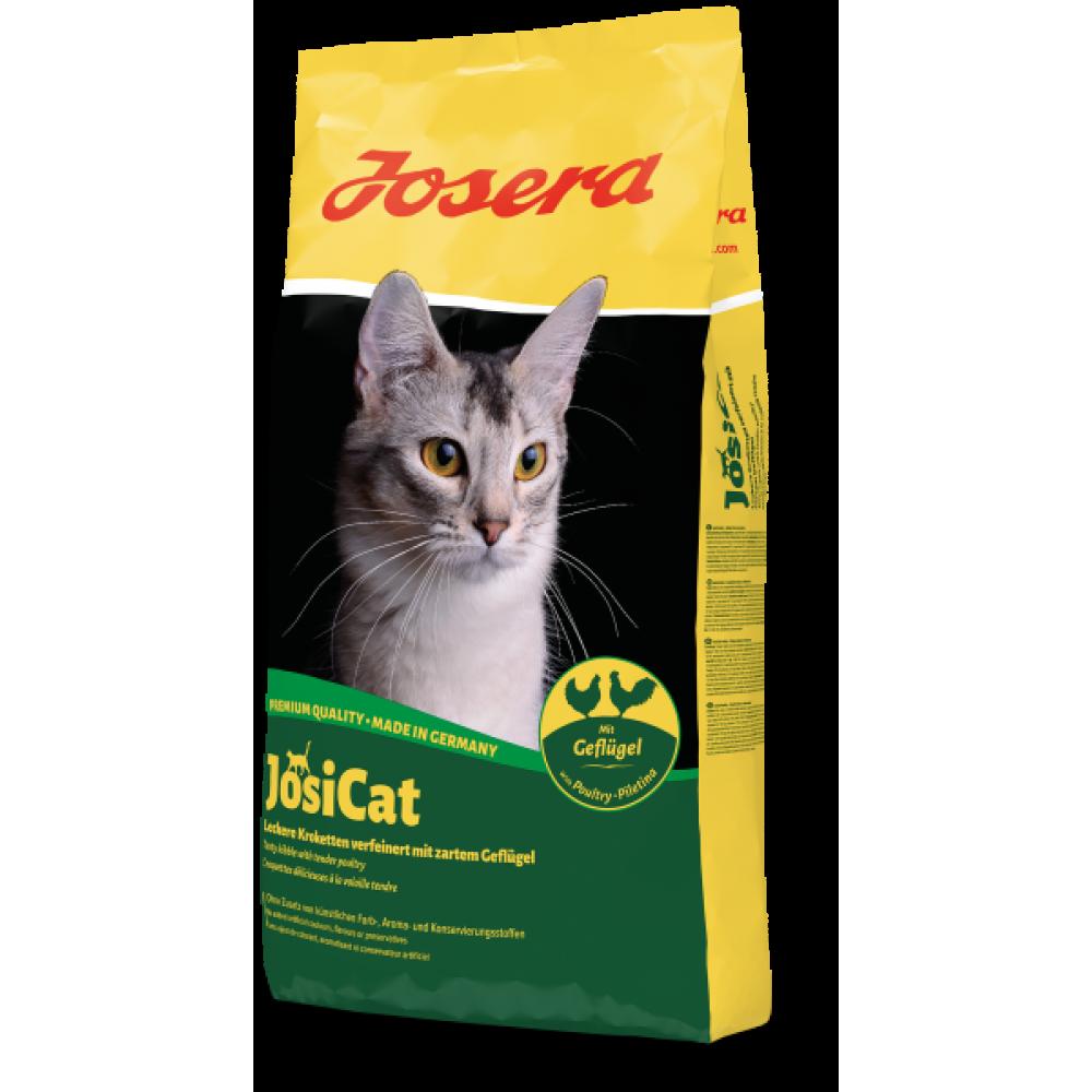 Josi Cat Сухой корм Josera JosiCat Geflügel для взрослых кошек с домашней птицей 10 кг