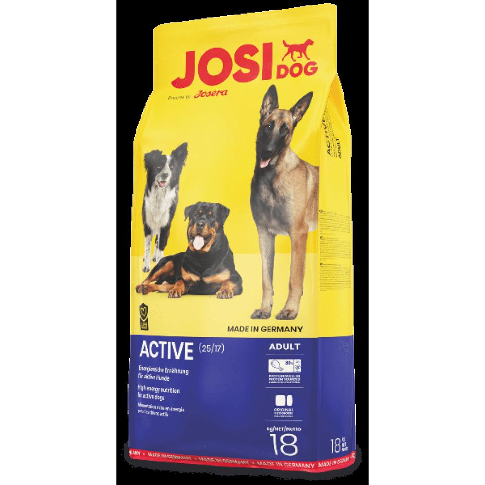 Сухой корм  JosiDog Active Adult для взрослых собак с мясом домашней птицы