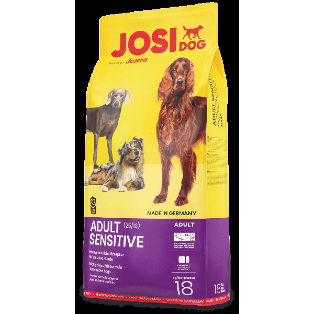 JosiDog Adult Sensitive -сухой корм для взрослых собак с проблемами пищеварения