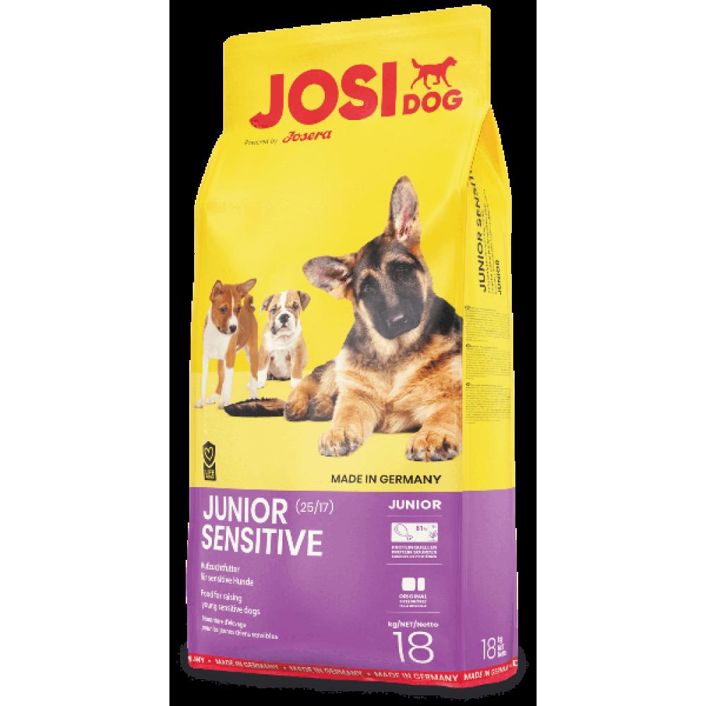Сухой корм Josera JosiDog Junior Sensetive для щенков с чувствительным пищеварением