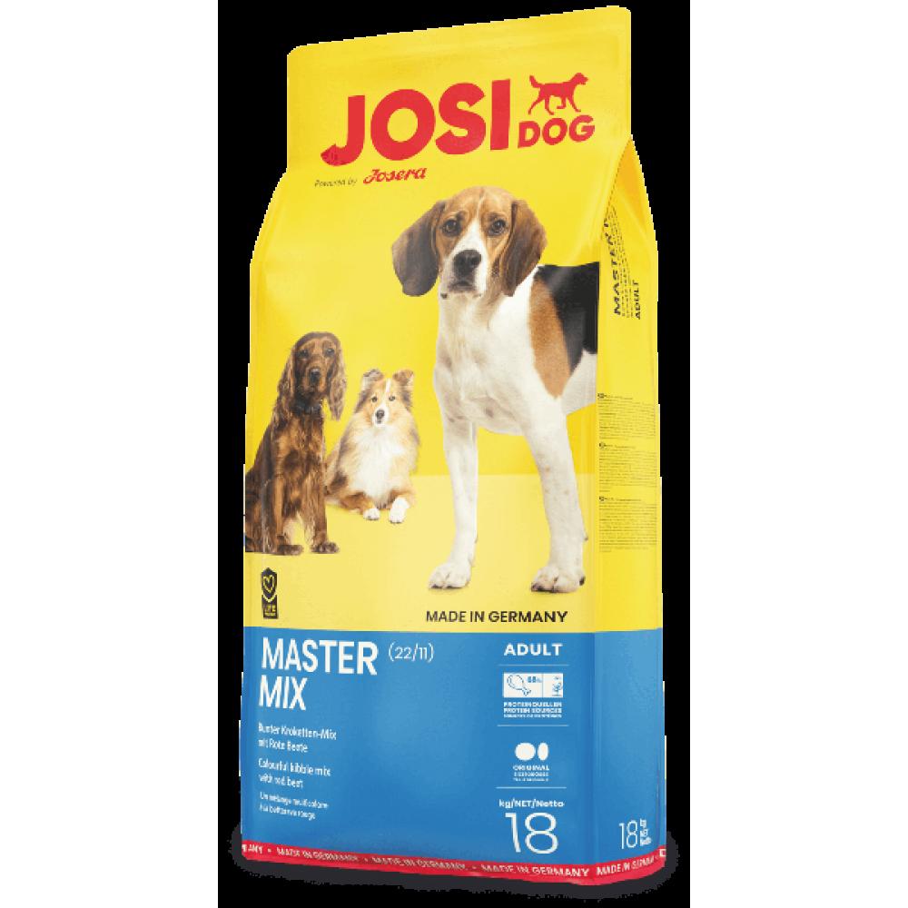 Сухой корм для взрослых собак JosiDog Master Mix Adult с мясом домашней птицы