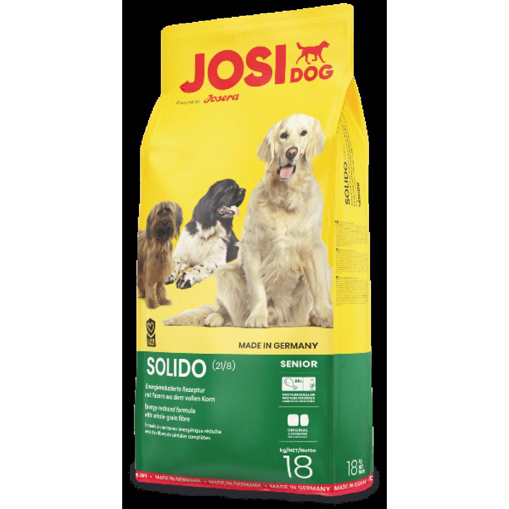 Сухой корм для пожилых собак JosiDog Solido Adult с мясом домашней птицы