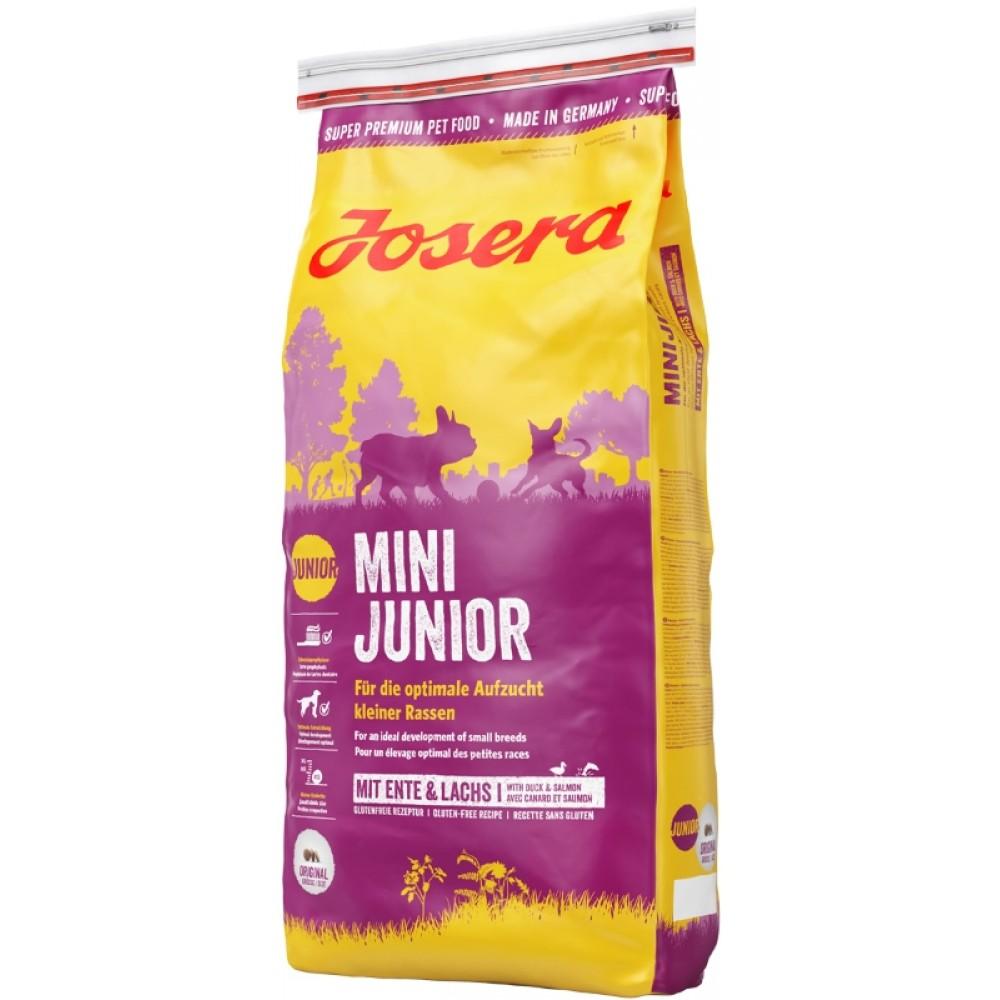 Сухой корм Josera MiniJunior для щенков малых пород