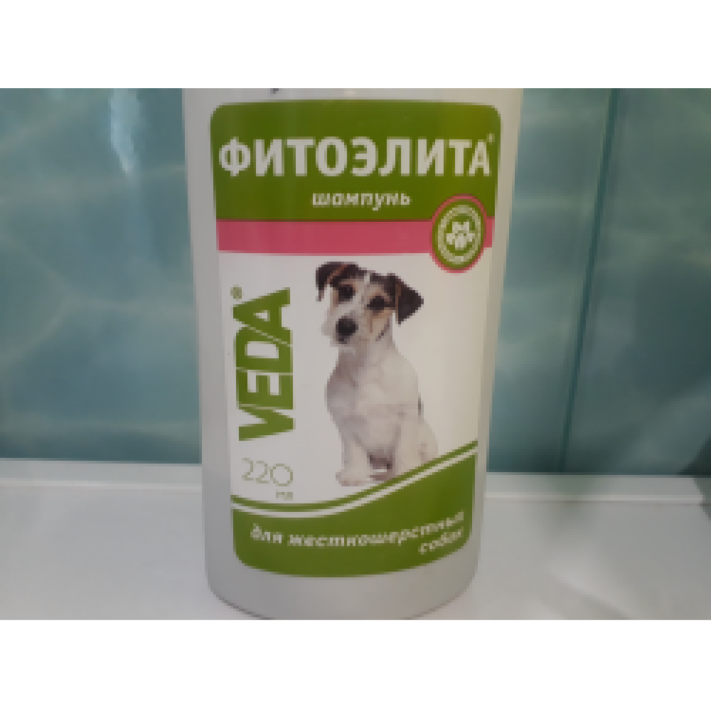 Шампунь Веда для жесткошерстных собак 220 мл