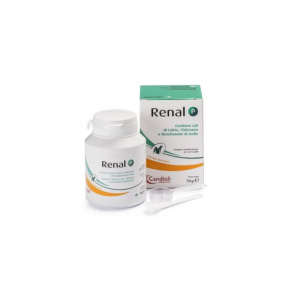 Кандиоли Ренал Р  (Candioli RENAL P) порошок для котов и собак 70гр