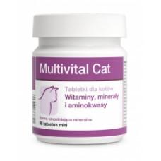 Вит-Мин. корм для котов Мультивитал Кэт 500 табл. (витамины, минералы, аминокислоты)