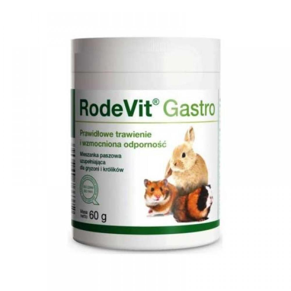Долфос Родевит Гастро (Dolfos RodeVit Gastro)  для грызунов и кроликов 60г порошок