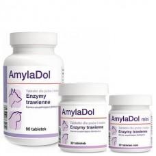 Долфос Амиладол  ( Dolfos AmylaDol)  для улучшения пищеварения у собак и кошек, 90 мини таблеток