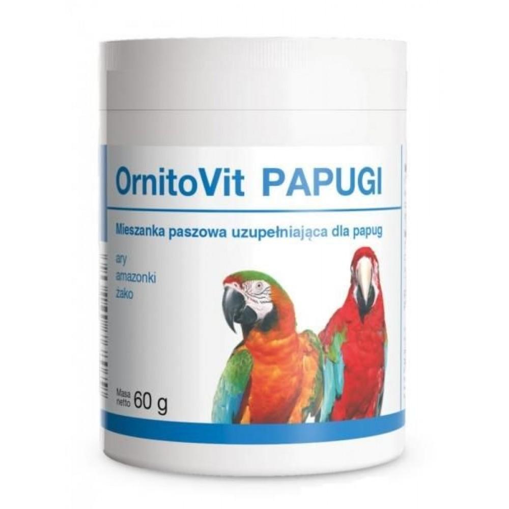 Долфос Орнитовит Папугаи (Dolfos ORNITOVIT PARROTS) добавка для крупных попугаев