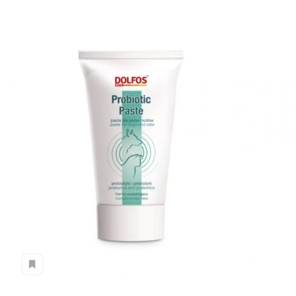 Долфос Пробиотик паста (Dolfos Probiotic Paste), для поддержания ЖКТ собак и кошек, 50 гр