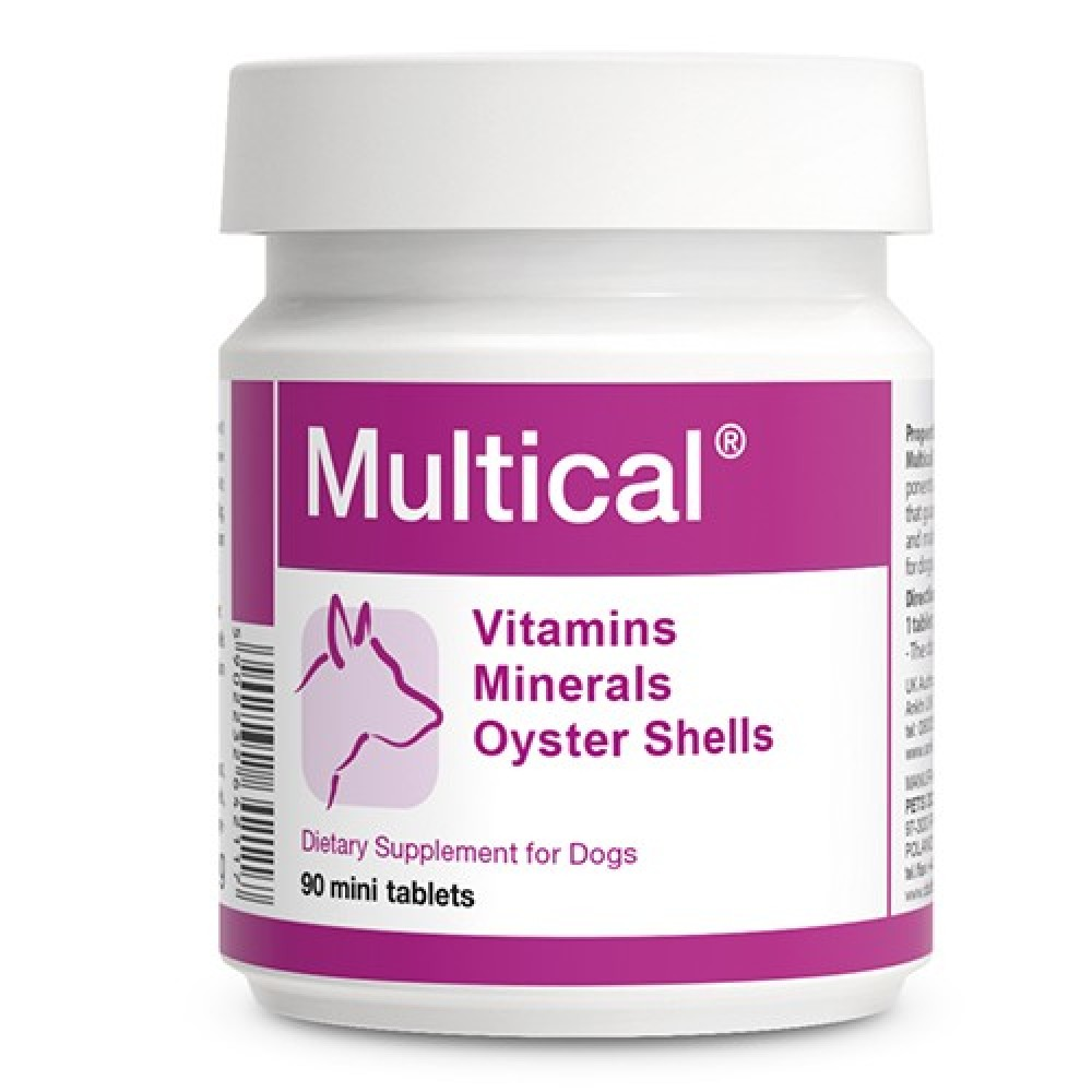 Долфос Мультикаль (Dolfos Multical)  для собак, 90 таблеток