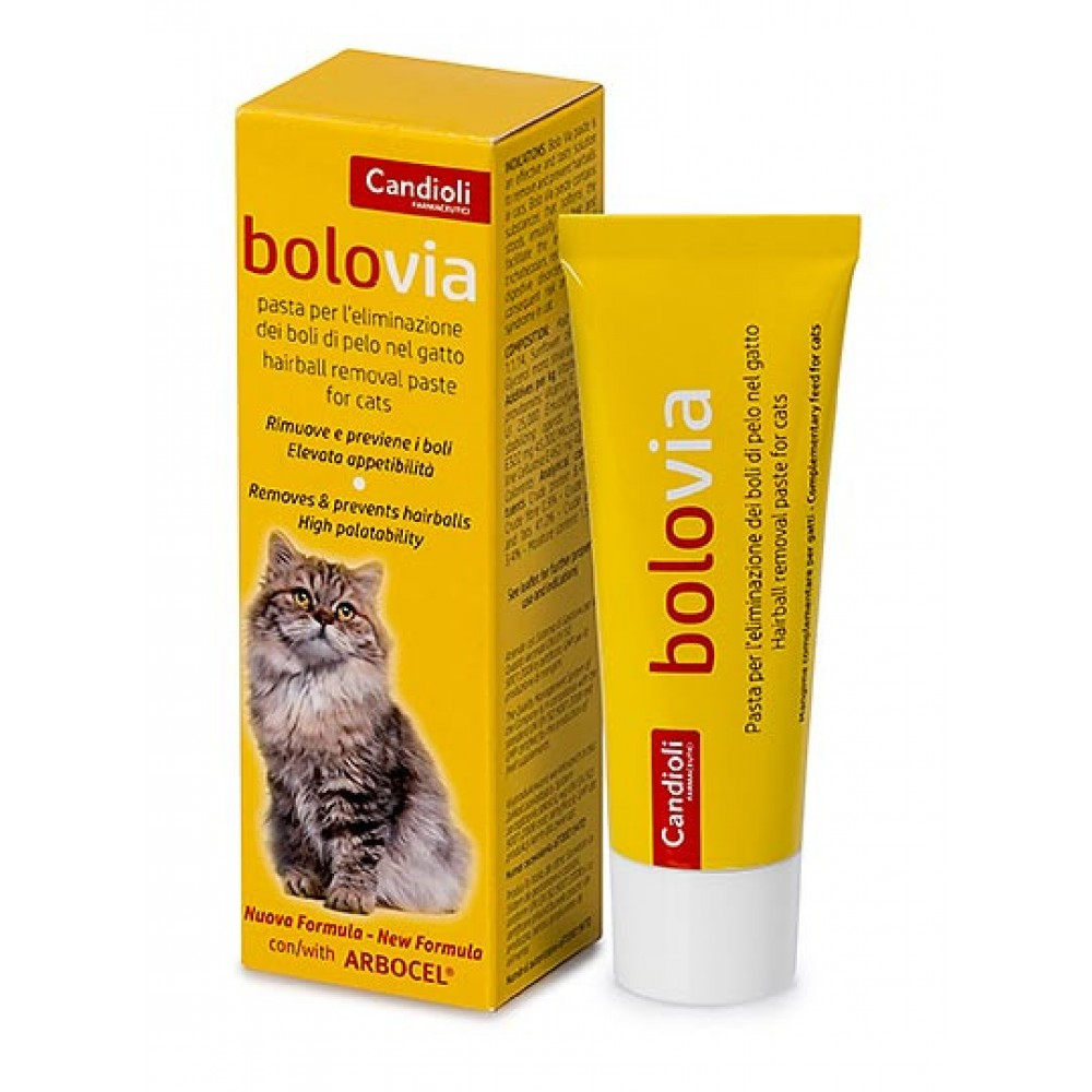 Кандиоли БолоВиа (Candioli BoloVia)   для выведения шерсти у котов 25 г