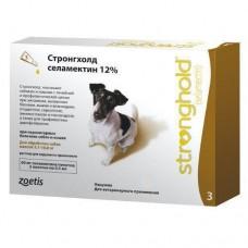Стронгхолд 12% для собак 5-10 кг, 0,5 мл х 3 пипетки